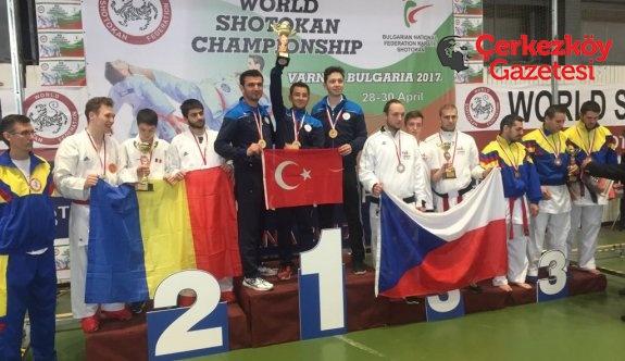 Dünya Şampiyonları Çerkezköy'den çıktı