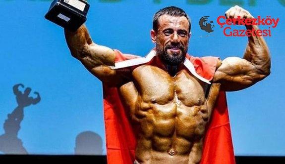Furkan Memiş, vücut geliştirme dünya şampiyonu oldu