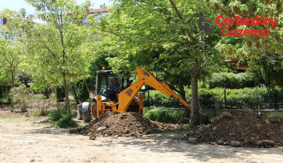 Muhsin Yazıcıoğlu Parkı'nda çalışmalar başladı