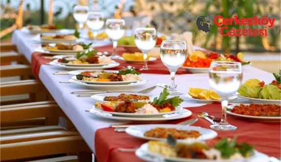 Ramazan ayında beslenmeye dikkat