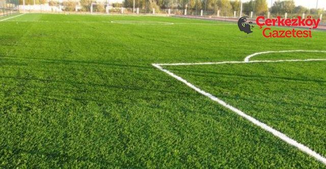 Yeni futbol sahasında son aşamaya gelindi