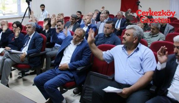 Belediye Meclisinin ilk oturumu tamamlandı
