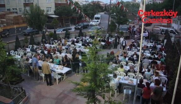 ÇOSB'den TSD Çerkezköy Şubesi'ne iftar