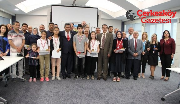 ÇOSB'nin ödüllü yarışması tamamlandı