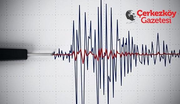 Deprem panik yarattı