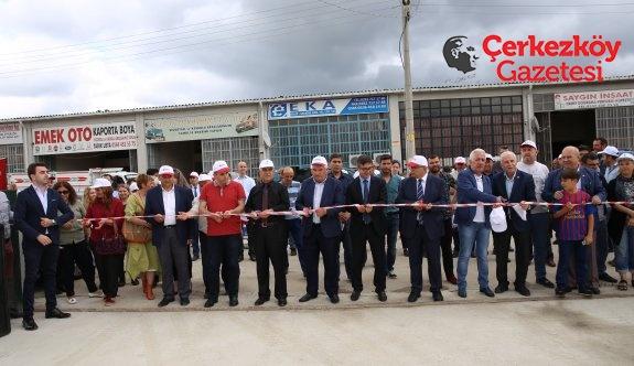 Kapaklı Atık Getirme Merkezi'nin açılış töreni yapıldı