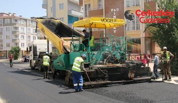 5 sokak daha asfaltlandı