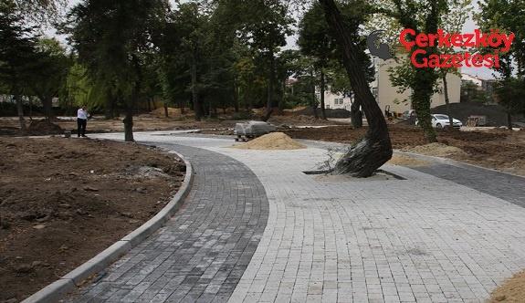 Kent Park projesi ilerleme kaydediyor