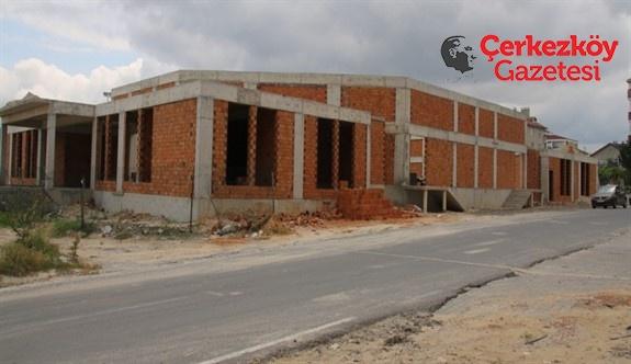 Veliköy Düğün Salonu yüzde 60 tamamlandı