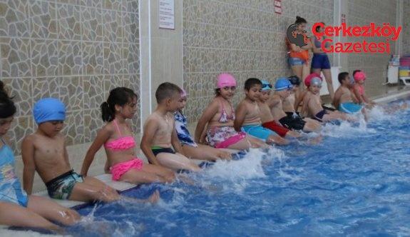 Yaz spor okulu başladı