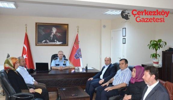 Ak Partililer Kurtoğlu'nu ziyaret etti