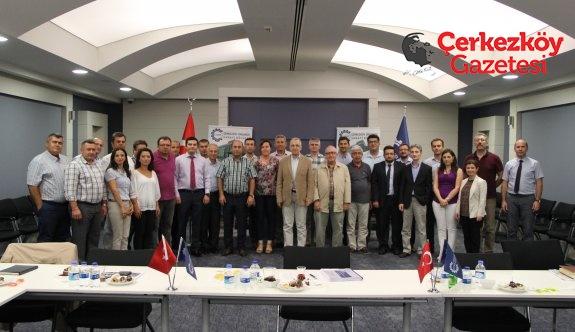 ÇOSB 2017 I. Dönem YGG toplantısı yapıldı