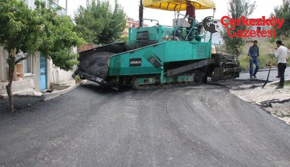 Kızılpınar'da toplam 118 sokak asfaltlanacak