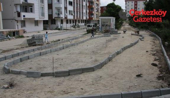 Kızılpınar'ın parkları yenileniyor