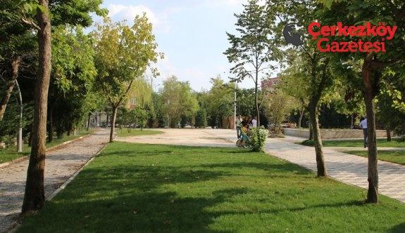 Muhsin Yazıcıoğlu Parkı tamamlanmak üzere