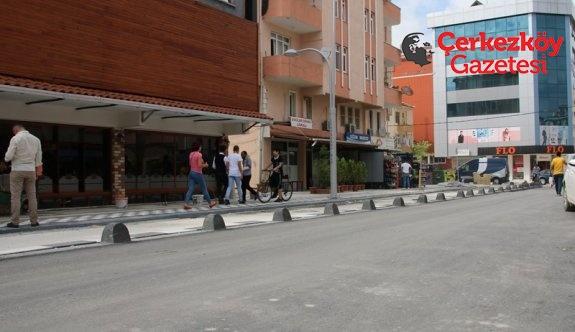 Örnek sokak çalışmaları devam ediyor