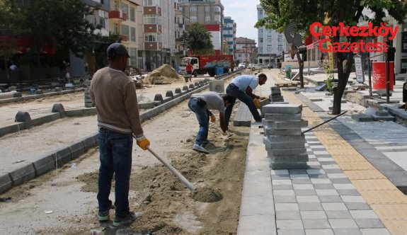 Örnek Sokak çalışmaları hızla ilerliyor