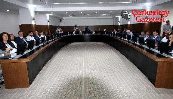 Belediye Meclisi 1 aylık tatilin ardından toplandı