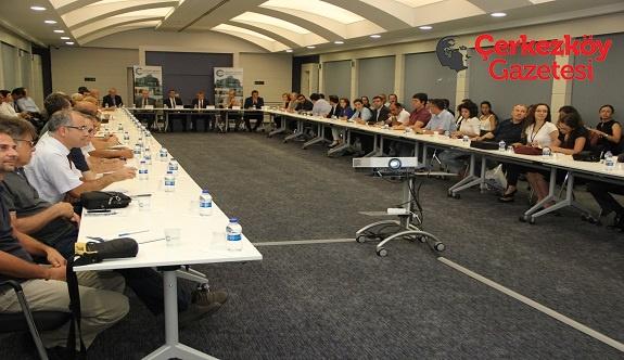 Tekirdağ Ar-Ge Merkezleri-Üniversite buluşması ÇOSB'de gerçekleşti