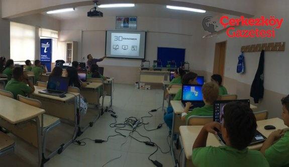 Trakya'daki okullarda Maker Eğitimleri başladı