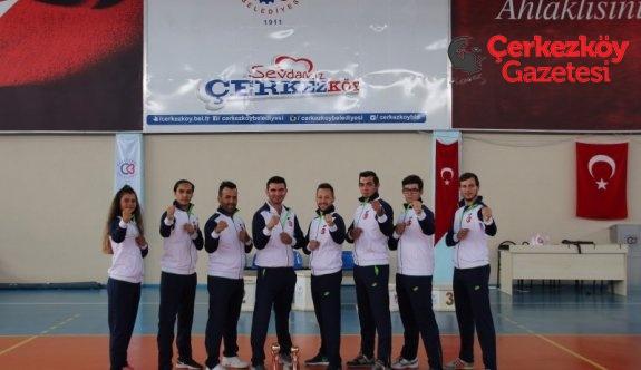 Türkiye Karate Şampiyonası Çerkezköy'de yapılacak