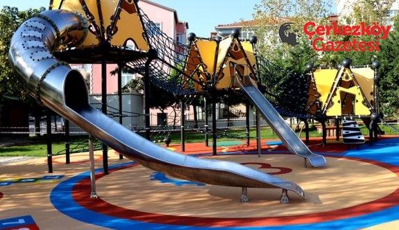 Muhsin Yazıcıoğlu Parkı kullanıma açıldı