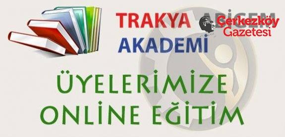 Çerkezköy TSO üyelerine online eğitim hizmeti