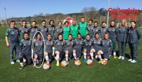 Çerkezköy'den Türkiye U15 Kadın Futbol Takımı'na