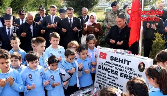 Şehit Dinçer Ersoy'a anma töreni