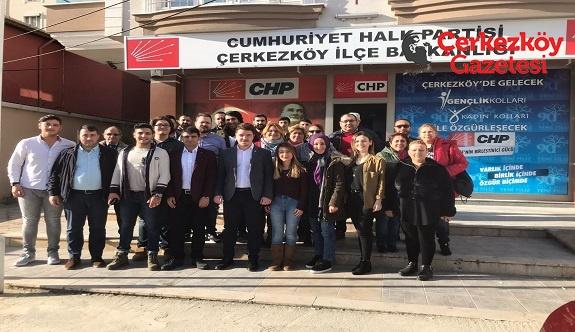 Avcılar: Çerkezköy'ü gençler güzelleştirecek