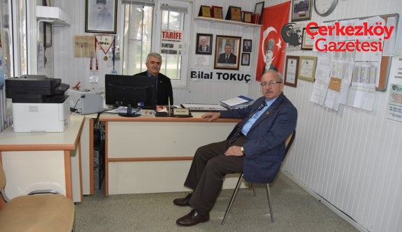 Başkan Albayrak'tan Kapaklı Muhtarlarına ziyaret