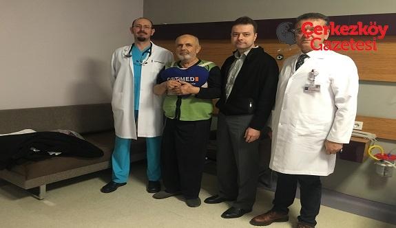 Kozuva'nın kayınpederi ameliyat oldu