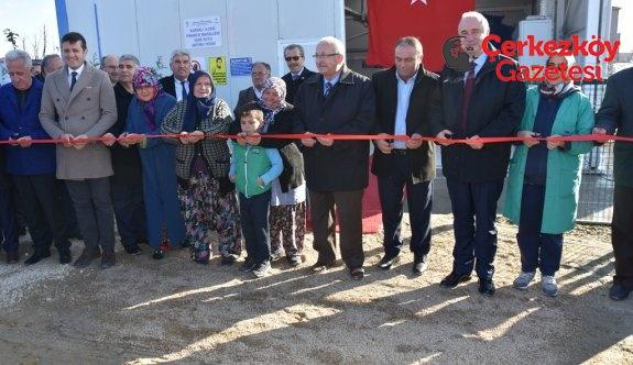 Pınarça, İçme Suyu Arıtma Tesisi ve Terfi Hattı'na kavuştu