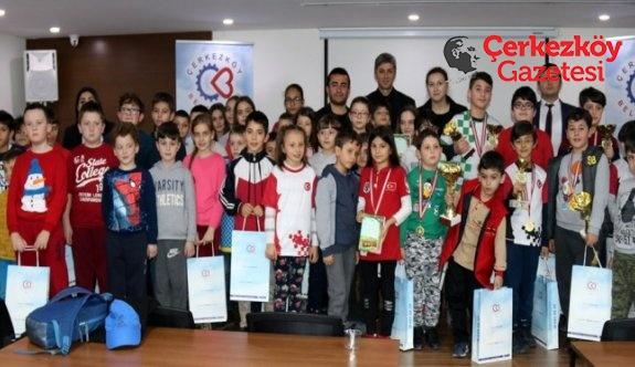 Yılın ilk satranç turnuvası sonuçlandı
