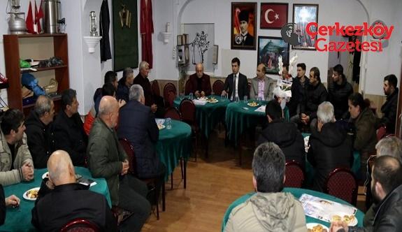 Başkan Akay'dan dernek ziyaretleri