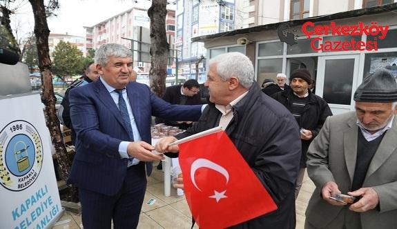 Başkan Mandalı: Dualarımız Mehmetçiğimizle