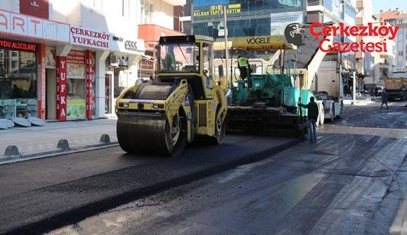 Bir örnek sokak daha tamamlandı