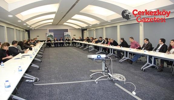 Üniversite-sanayi buluşması ÇOSB çatısı altında gerçekleşiyor