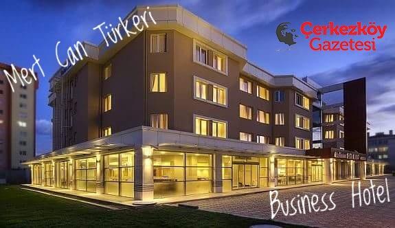 Business Hotel'de Mert Can Türkeri sahne alacak