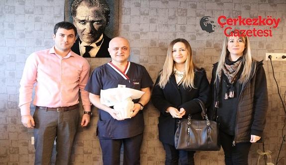 Çerkezköy Belediyesi Tıp Bayramı'nı unutmadı