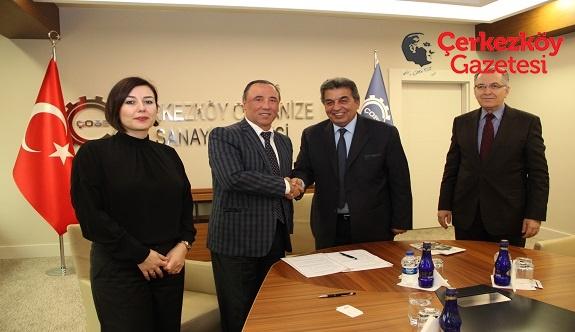 ÇOSB ile İstanbul Rumeli Üniversitesi arasında eğitim işbirliği