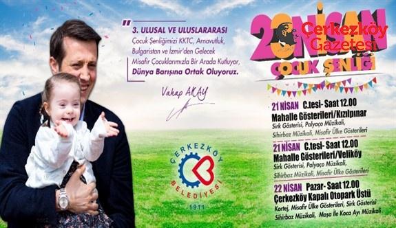 Belediye'den çocuklara mükemmel bir 23 Nisan programı