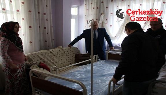 Çerkezköy Belediyesi'nden anlamlı yardım
