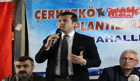Çerkezköy'de 75 milyon TL'lik altyapı yatırımı