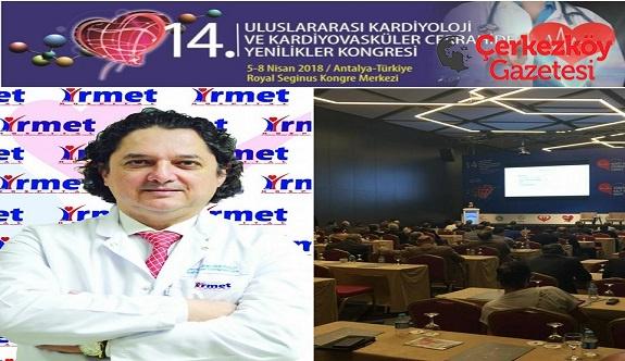 Çerkezköy'ün dünyaya açılan ismi: Prof. Dr. İlhan Mavioğlu
