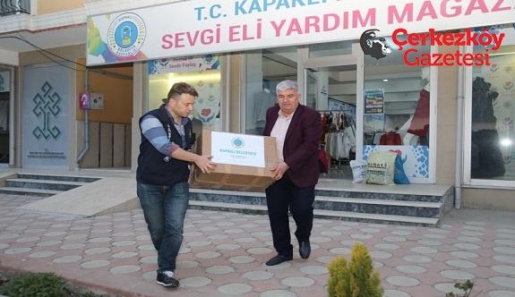 Kapaklı Belediyesi'nden Afrin'e destek