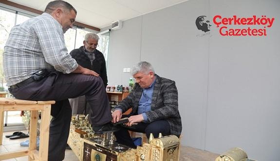 Mandalı'dam lostra salonunu ziyaret
