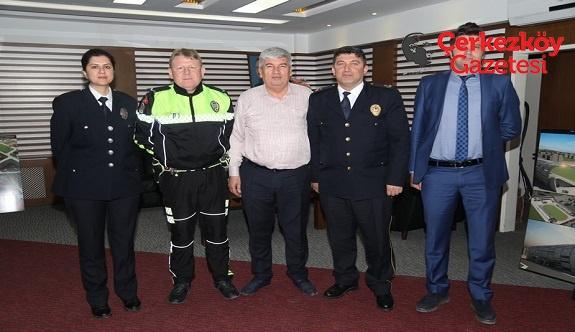 Murat Sevgi'den Başkan Mandalı'ya ziyaret