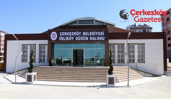 Veliköy Düğün Salonu hizmete açıldı