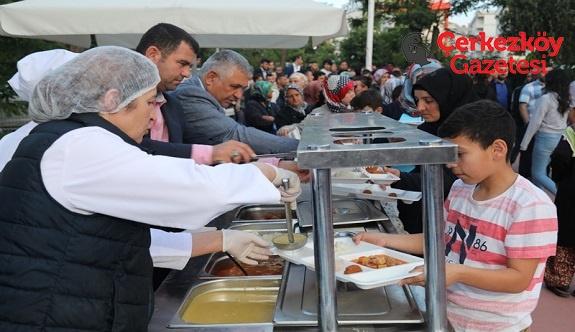 İkinci iftar Recep Güven Parkı'nda gerçekleşti